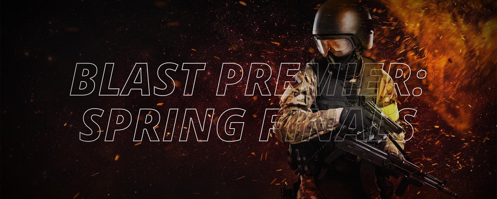CS:GO BLAST PREMIER: SPRING FINALS 2021
