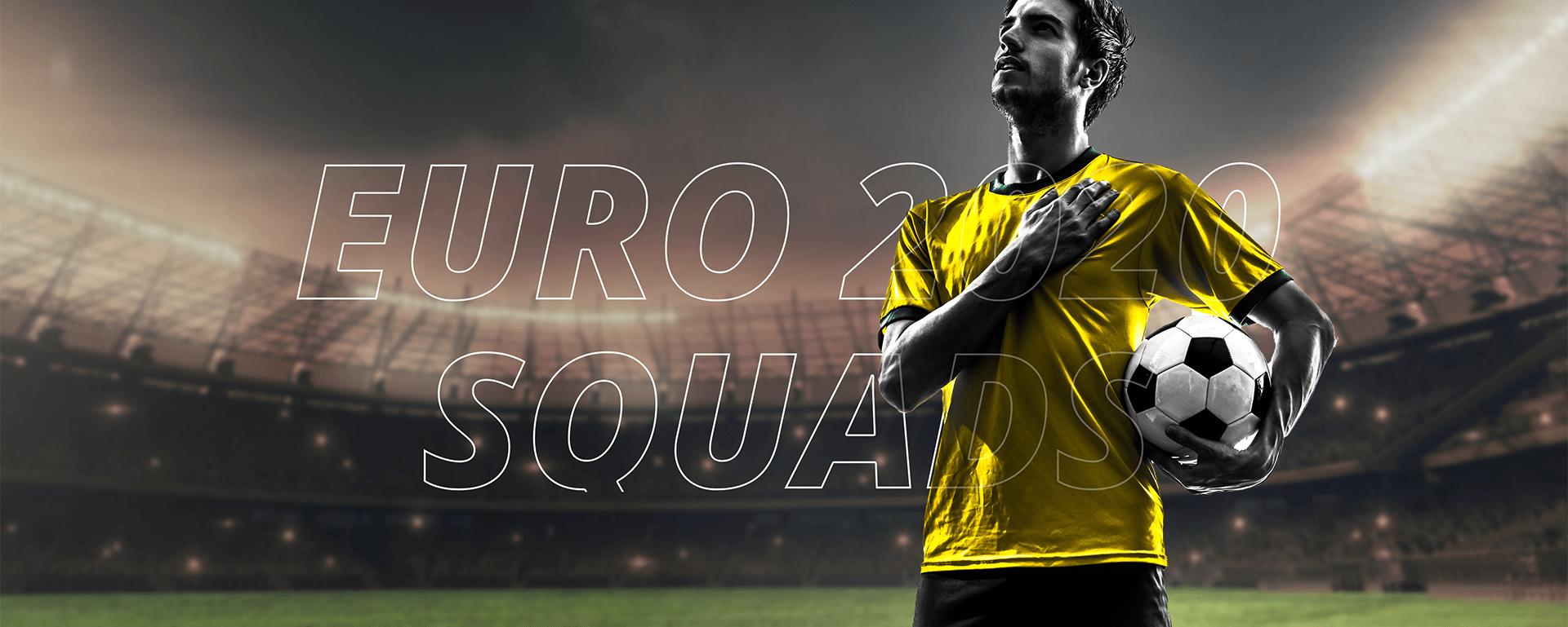 UEFA EURO 2020 (2021) FULL SQUADS