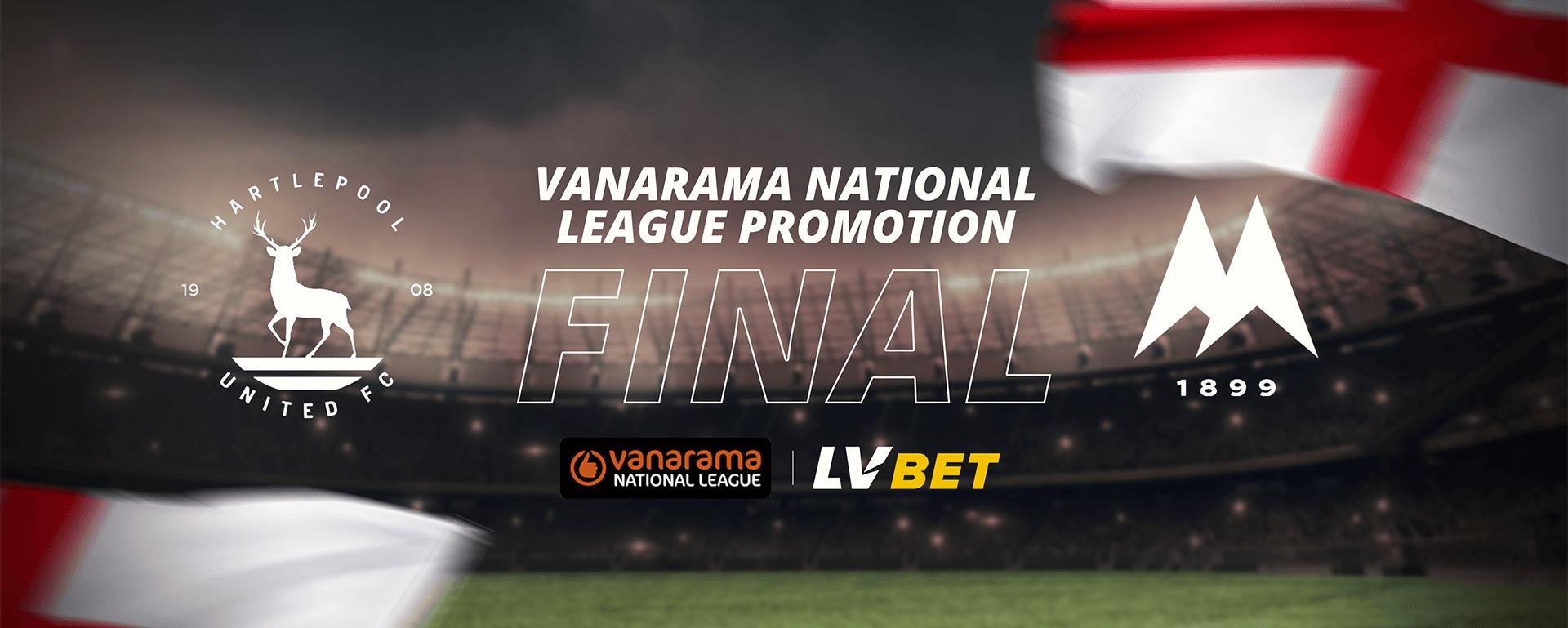 VANARAMA NATIONAL LEGUE PROMOTION FINAL: TORQUAY UNITED VS HARTLEPOOL UNITED