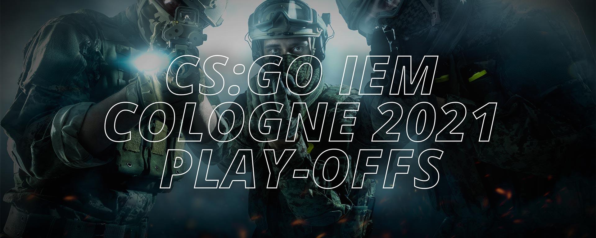 CS:GO — IEM COLOGNE 2021 — PLAY-OFFS