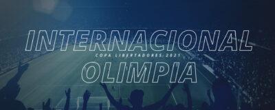 Internacional x Olimpia – Copa Libertadores