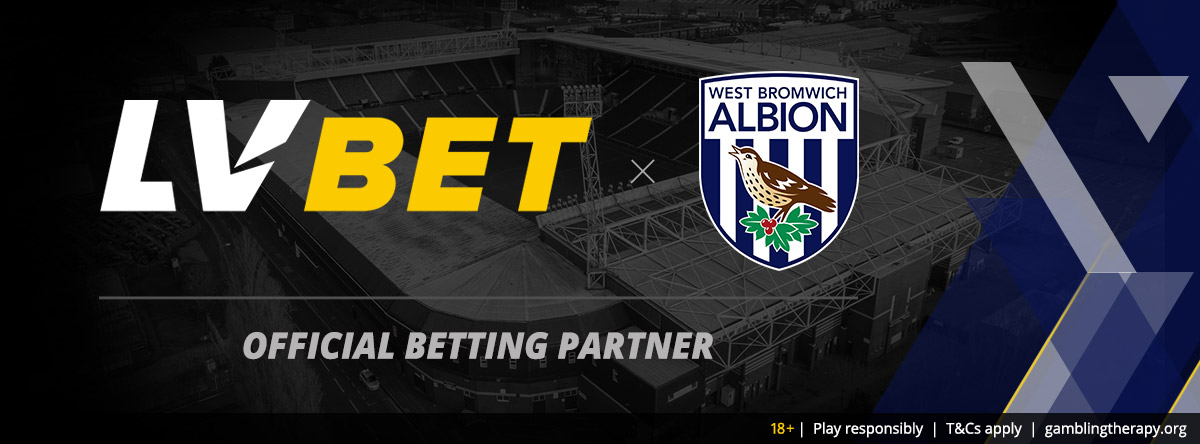 LV BET SPORTSBOOK FORGES SPONSORSHIP DEAL WITH WEST BROMWICH ALBION FC